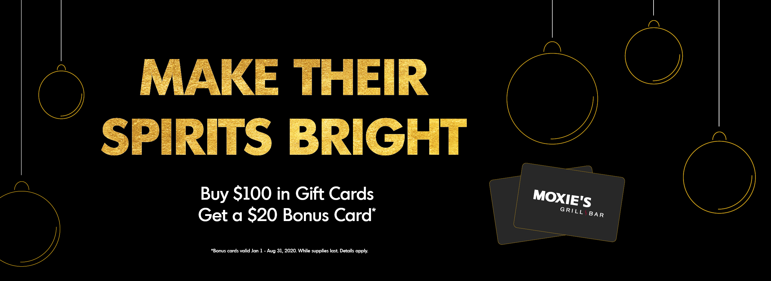 Buy $100 in gift cards and get $20 bonus cards
