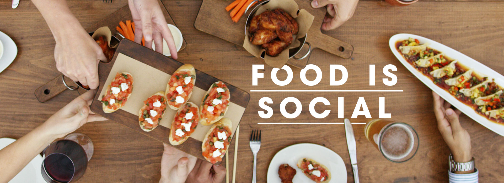Food is Social - Moxie's Grill & Bar