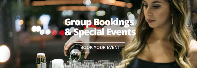 Contact Moxie's for your next special event!